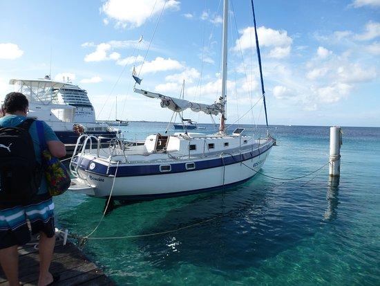Kralendijk, Bonaire: The boat