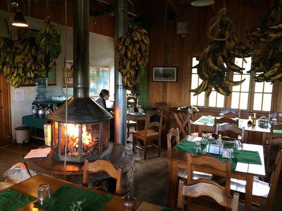 Guadalupe, Panama: Breakfast at Los Quetzals
