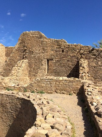 ruins at aztec new mexico