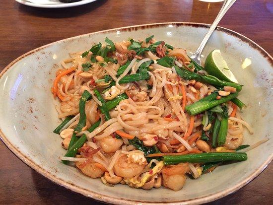 Homestead, PA: Shrimp Pad Thai
