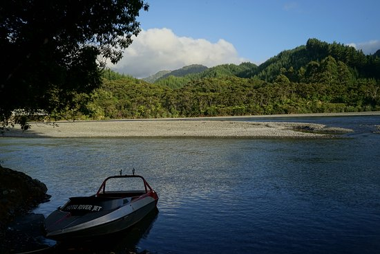 Opotiki, New Zealand: Motu River Jet boat