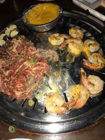 Culver City, CA: crevettes et porc