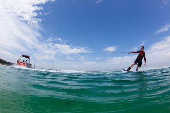 Redcliffe, Avustralya: Skiing, Wakeboarding and Tubeing are 3 of our favorite things!