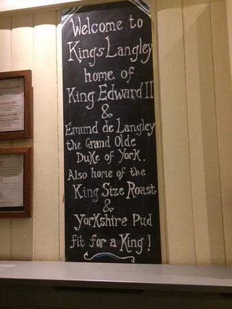 Kings Langley, UK: Toby