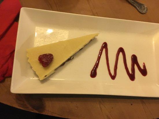 Polbathic, UK: Dessert
