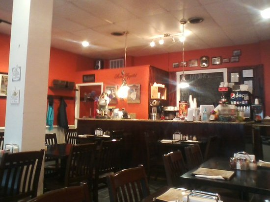 Scottsville, VA: beautiful little restaurant