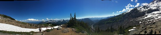 Panorama of Mount Rainier
