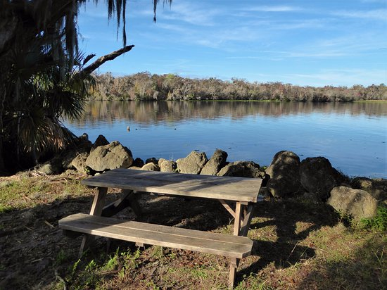 Astor, FL: Picnic on the St Johns