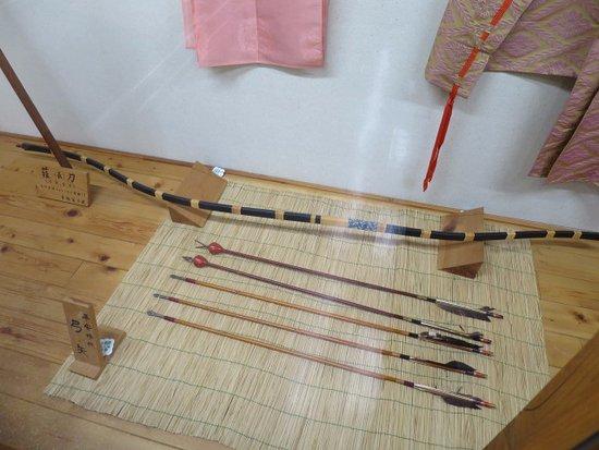 Kiso-machi, Japan: 展示の様子