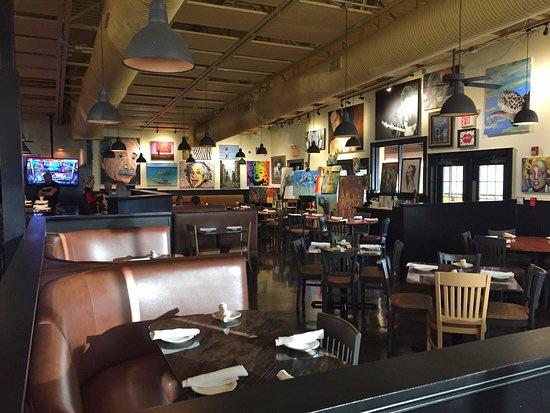 Cafe Barbosso Inside Seating Sarasota Fl