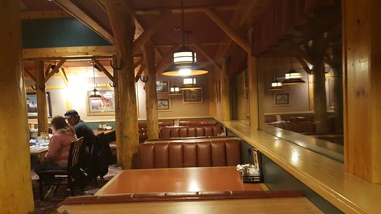 Ruby's Inn Cowboy's Buffet and Steak Room: inside