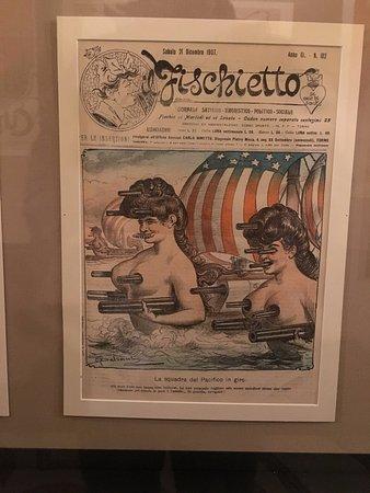 Museo Nazionale del Risorgimento: Political cartoons