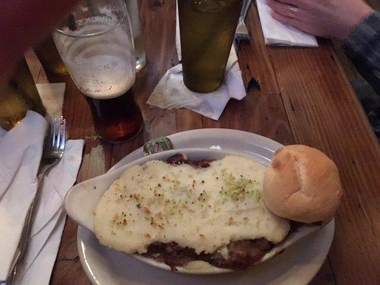 Dublin, OH: Mmmmmm. Shepherds pie.