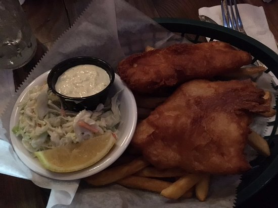 Dublin, OH: Very good and crispy fish and chips