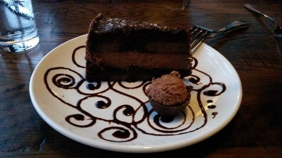 Strongsville, OH: Chocolate mousse cake