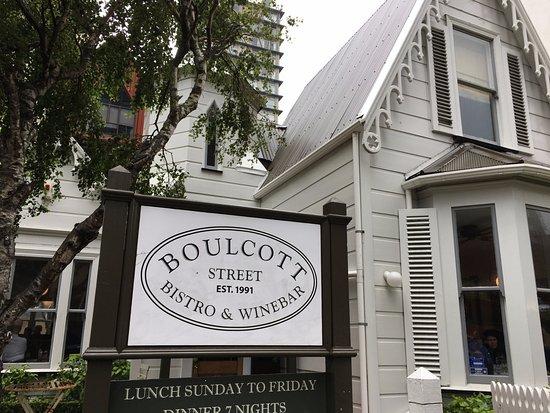 Boulcott Street Bistro: 外観。