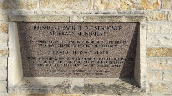 Eisenhower Veterans Monument: about the monument