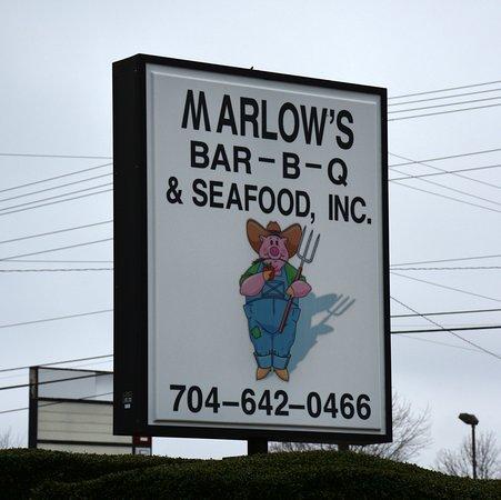Salisbury, Carolina del Norte: Sign on Statesville Blvd