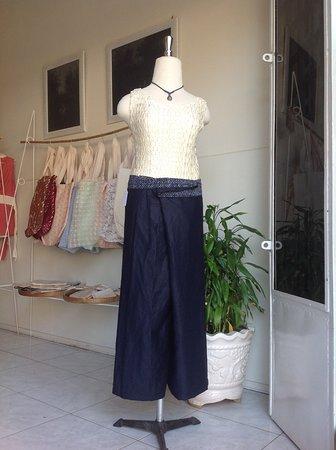 Indigo linen,and cotton belt - Bild von Jolie Jolie Beauty ...