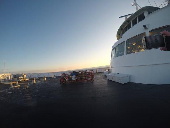 Port Angeles, WA: the ferry deck