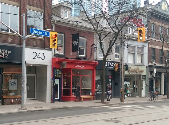 Photo of Restaurant Hot Black Coffee at 245 Queen Street West, Toronto M5V 1Z4, Canada