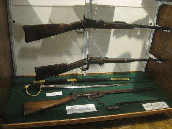 Broken Arrow, OK: Civil War era rifles.