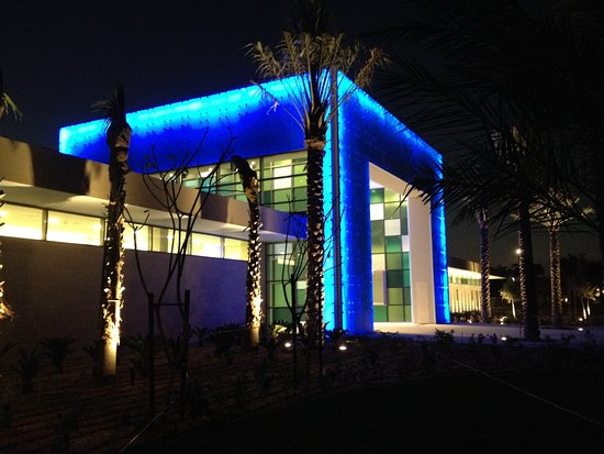 Entrance Pavilion Which Has Restaurants And Exhibition Space Picture Of Umm Al Emarat Park Abu Dhabi Tripadvisor