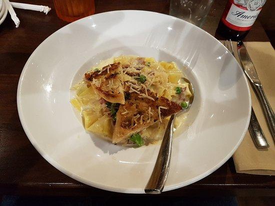 Seaside, Καλιφόρνια: Pasta Carbonara