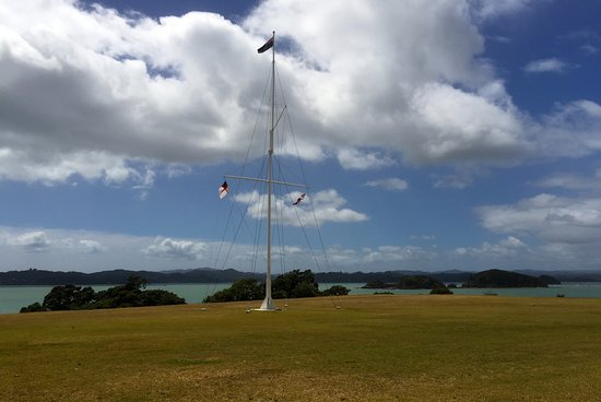 View Over Harbour to Paihia