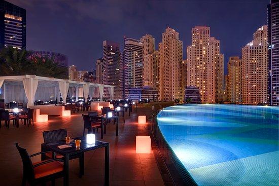 Shades Rooftop Bar, Dubai Marina | The Vacation Builder