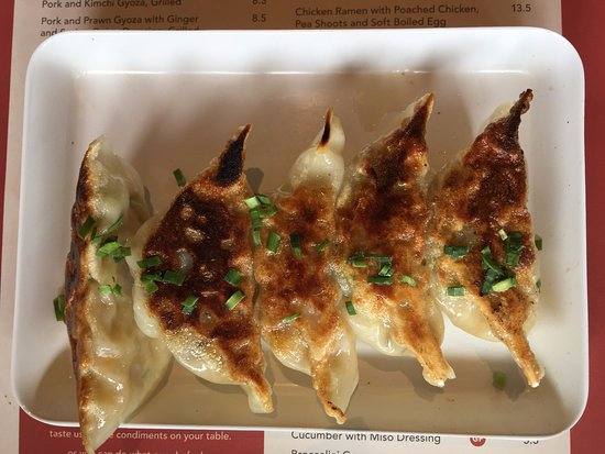 Indooroopilly, Αυστραλία: Vegetarian dumplings