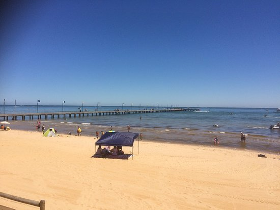 Frankston, Australien: Looking South West Over The Pier