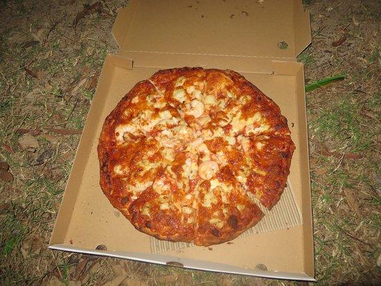 Noosaville, Australia: Seafood pizza