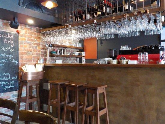 Bonbeach, Australie : The Bar area