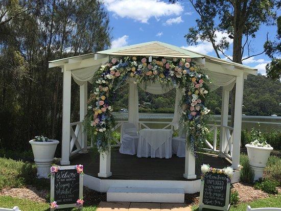 Wisemans Ferry, Australia: Wedding venue