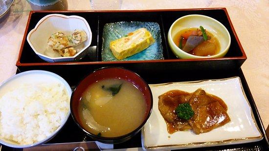 Oyama, Japan: 和朝食