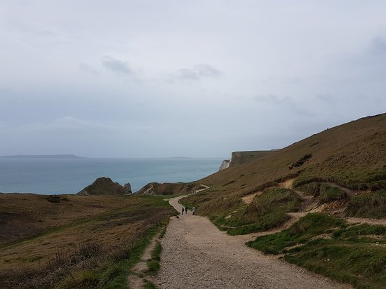West Lulworth, UK: View from coast from lulworth to durdle door