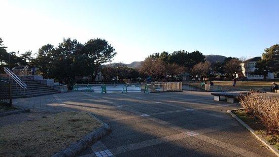 Hiratsuka, Japon : 公園と花壇