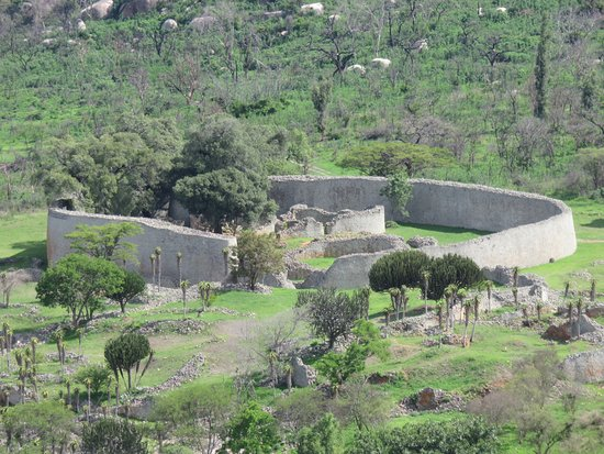 Masvingo, Zimbabwe: Great View of the Great Zimbabwe Ruins !