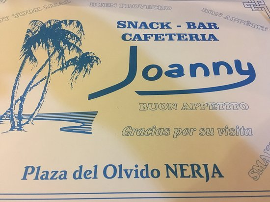 Joanny Bar: Take our advice - if you're in Nerja go there!