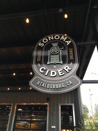 Healdsburg, Kaliforniya: Sonoma Cider