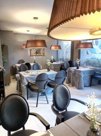 Sallent, España: sala interna