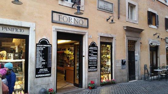 L\'ANTICO FORNO DI FONTANA TREVI, Roma - Centro - Ristorante ...