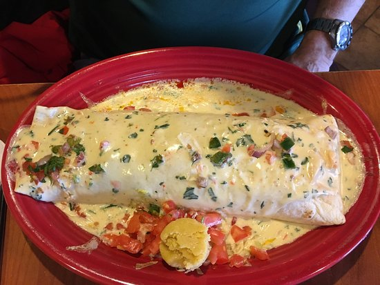 Overland Park, KS: Mega burrito
