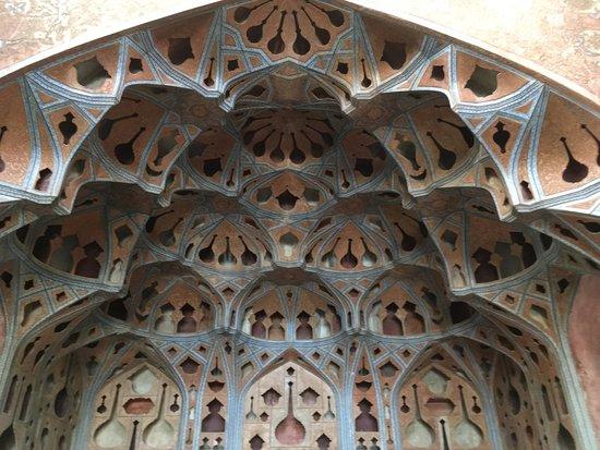 Aali Qapu Palace : Music Hall