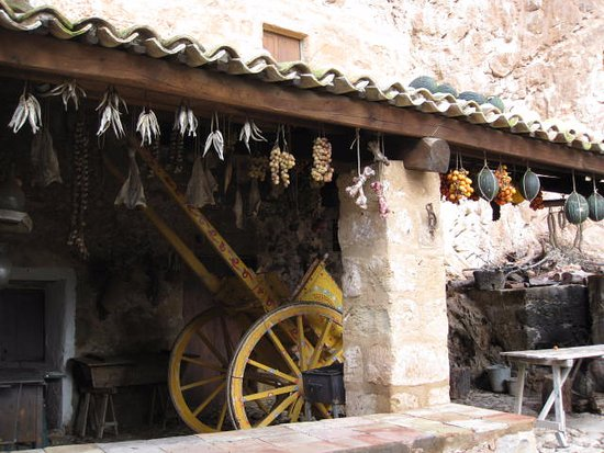 Custonaci, Italie: Una tettoia esterna