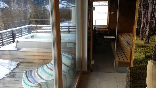 Wolfach, Allemagne : finnische Sauna