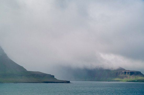 Kjorvogur, Islandia: The view on the way