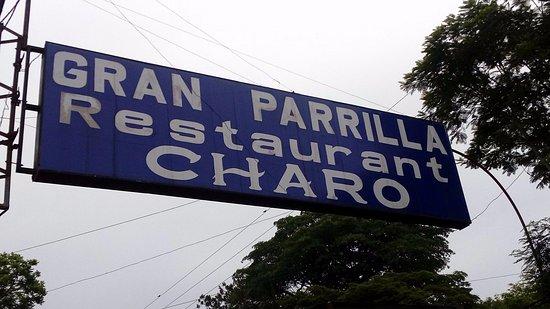 El Charo: Вывеска