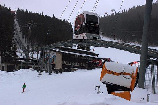 Liptovsky Mikulas, Slovakia: Jasna. Small train